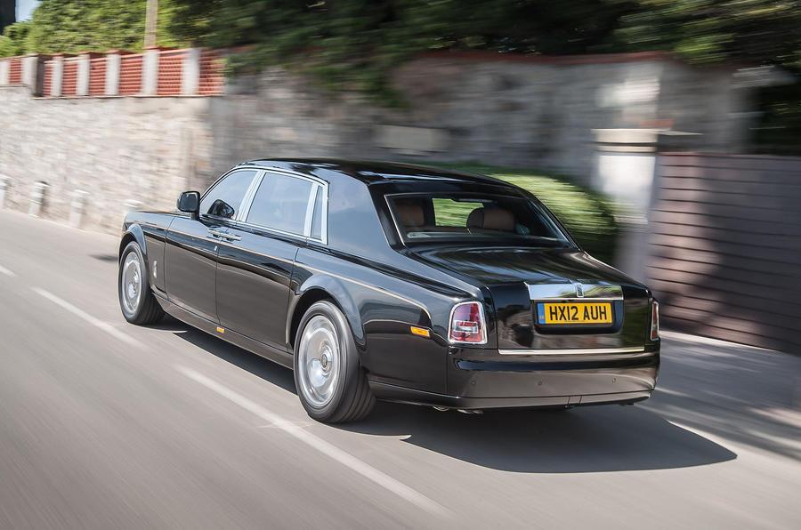 453bhp Rolls-Royce Phantom EWB
