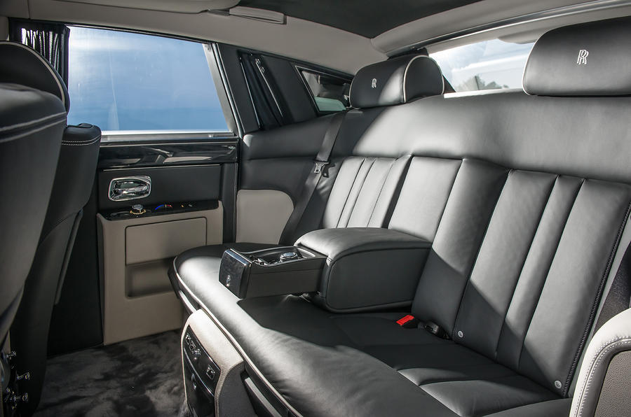 Rolls-Royce Phantom rear seats