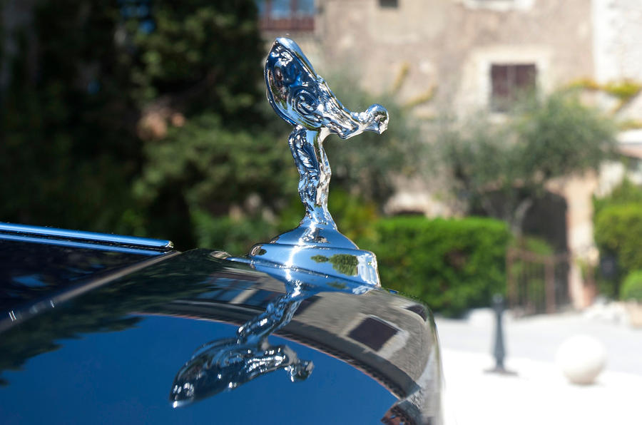 Rolls-Royce's Spirit of Ecstasy sculpture