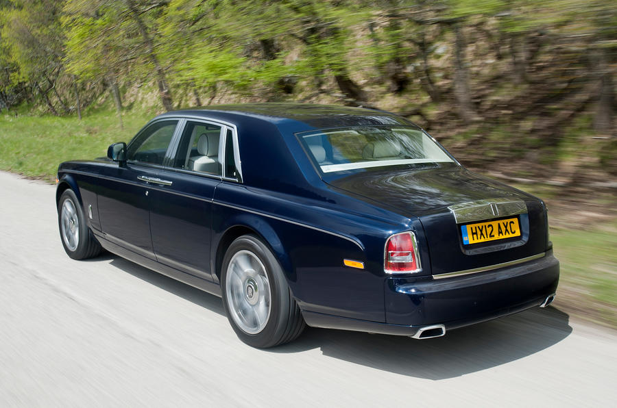 Rolls-Royce Phantom rear quarter