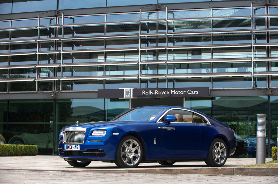 Best cars of 2013: Rolls-Royce Wraith