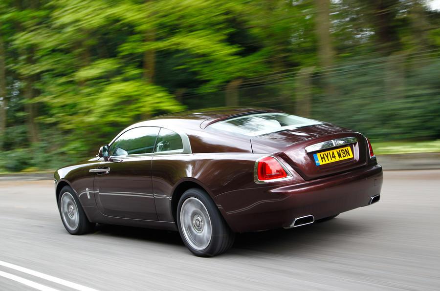 Rolls Royce Wraith; Rolls Royce Wraith Rear ...