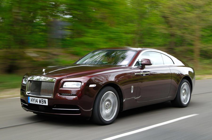 Rolls Royce Wraith ...