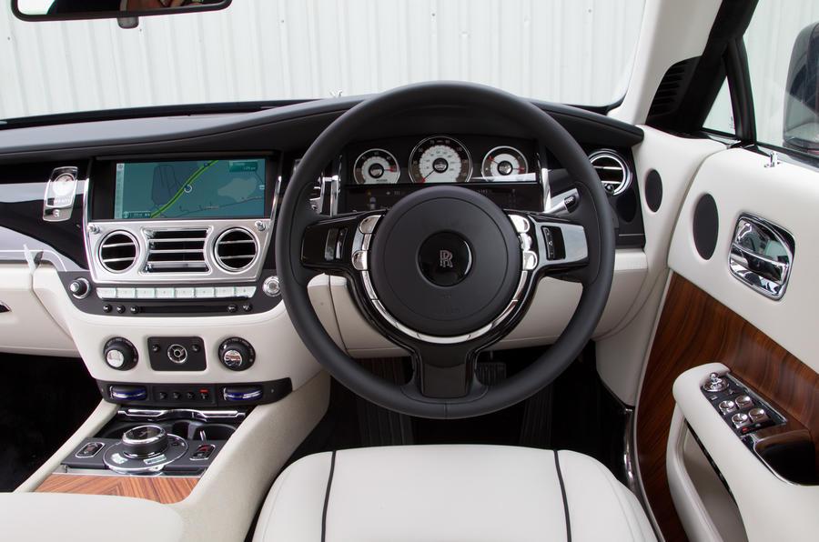 Rolls-Royce Wraith dashboard