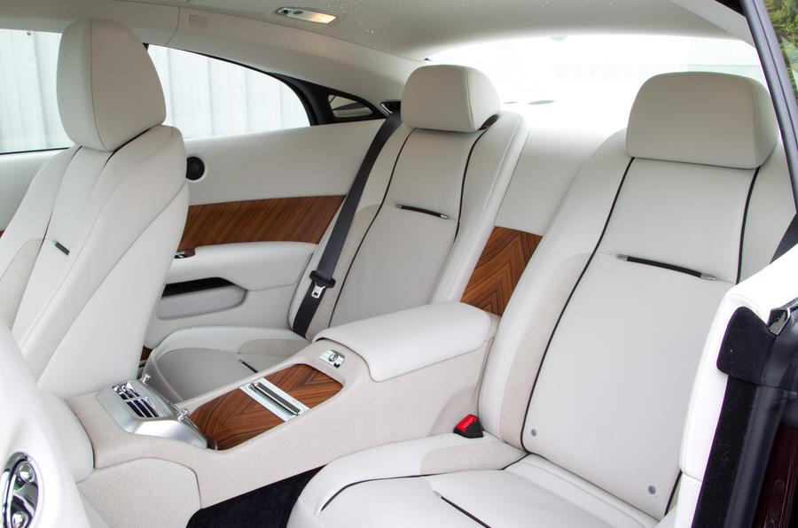 Rolls-Royce Wraith rear seats