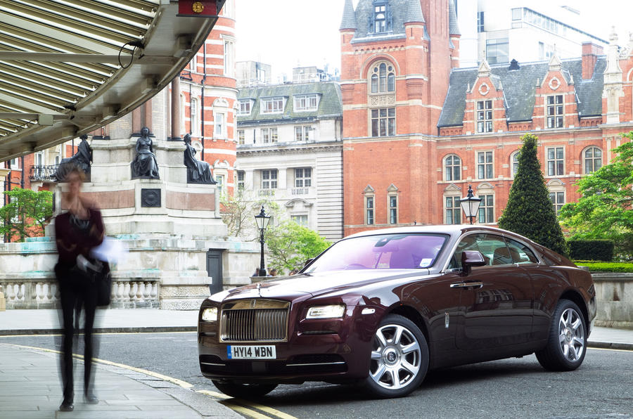 4.5 star Rolls-Royce Wraith