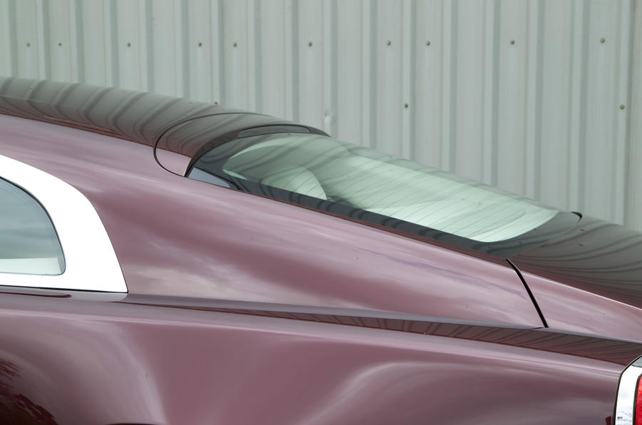 Rolls-Royce Wraith rear spoiler