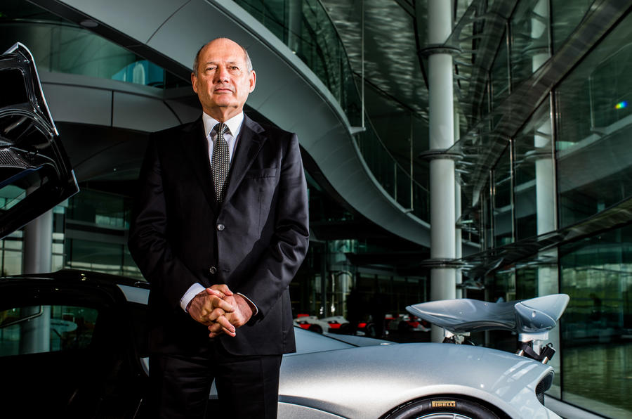 McLaren boss Ron Dennis wins inagurual Autocar Stars Award
