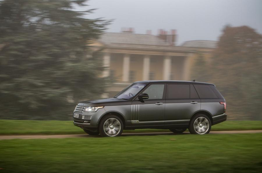 Range Rover SVAutobiography side profile