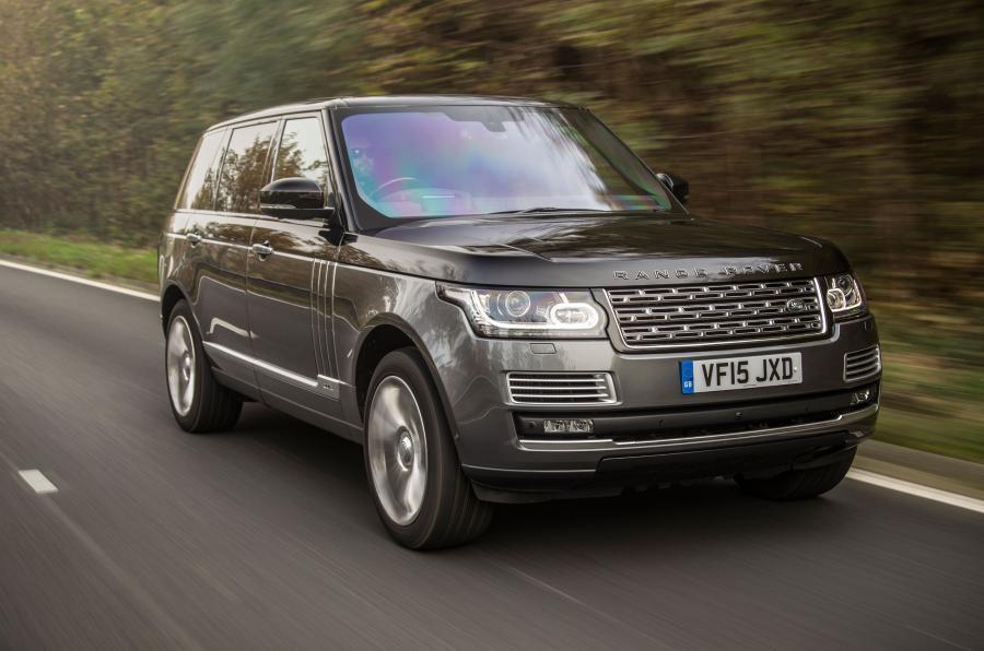Range Rover SVAutobiography front quarter