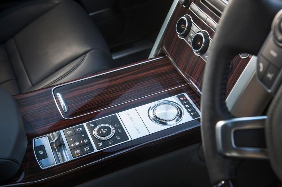 Range Rover SVAutobiography centre console