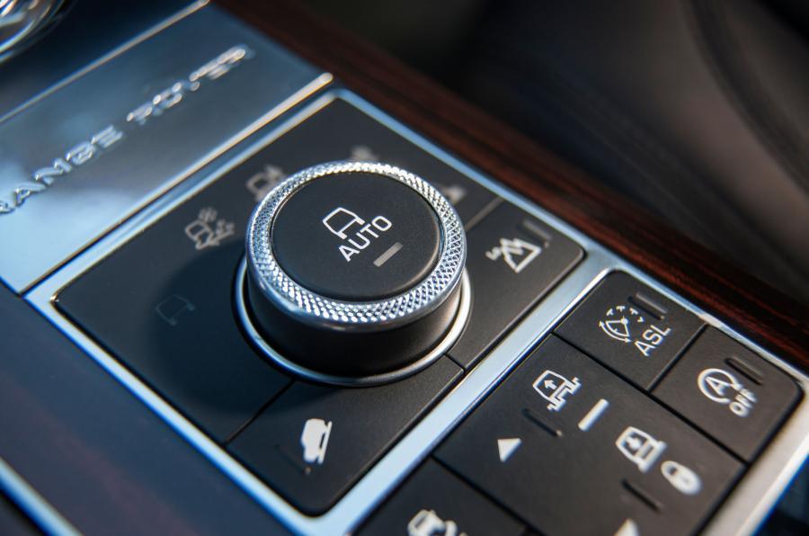Range Rover SVAutobiography off-road mode