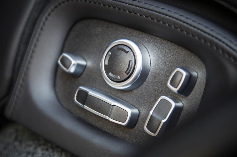 Range Rover SVA seat controls