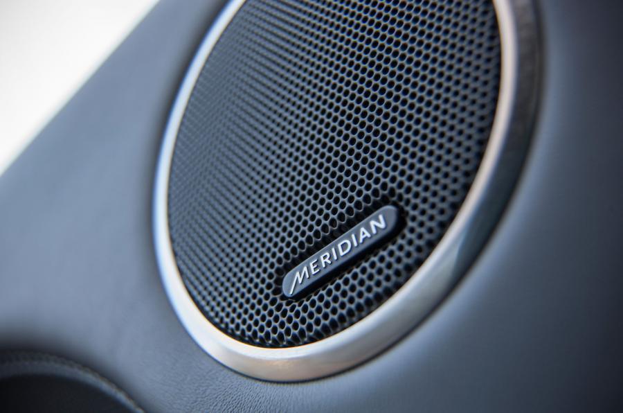 Range Rover SVA Meridian sound system