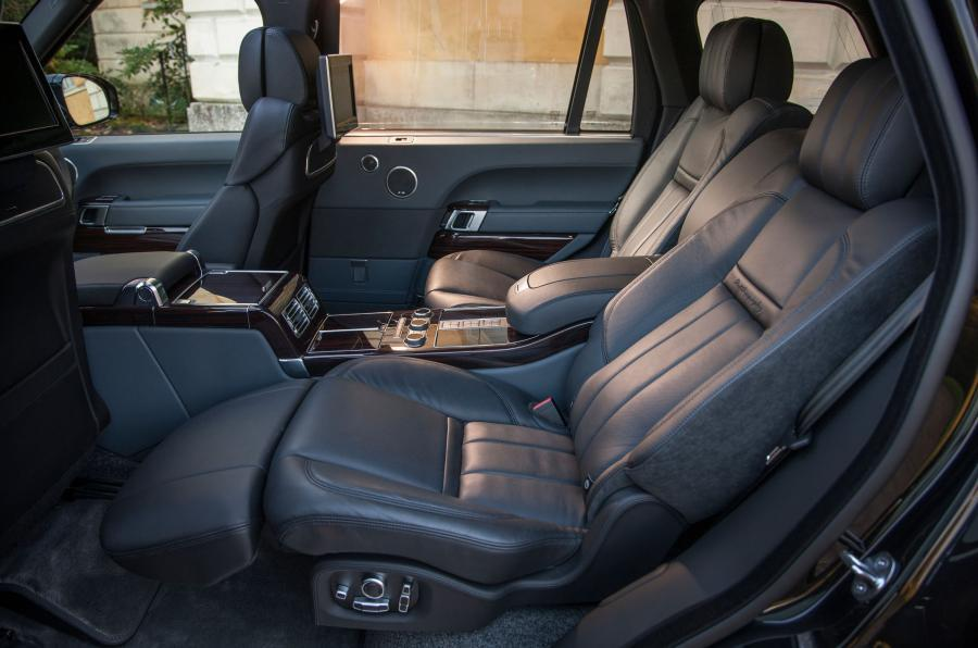 Range Rover SVAutobiography rear seats