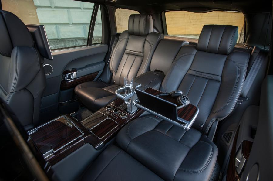 Range Rover SVAutobiography rear luxury seats