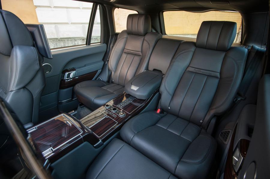 Range Rover SVA reclining seats