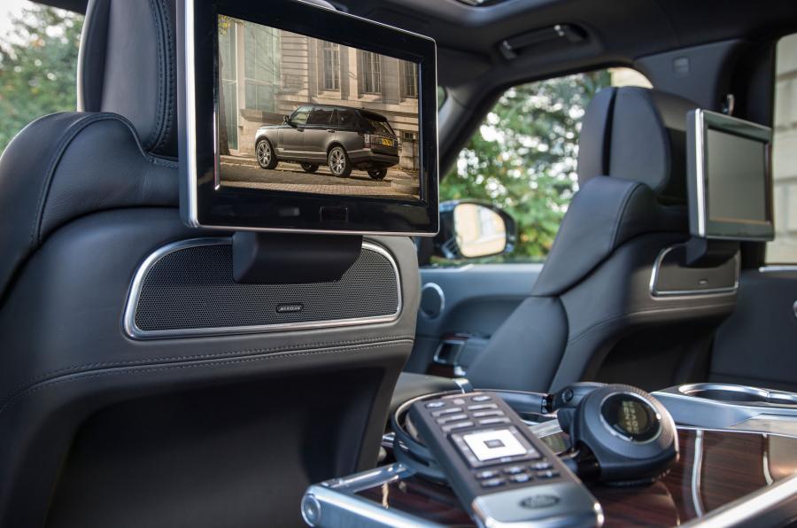 Rear TVs in the Range Rover SVA