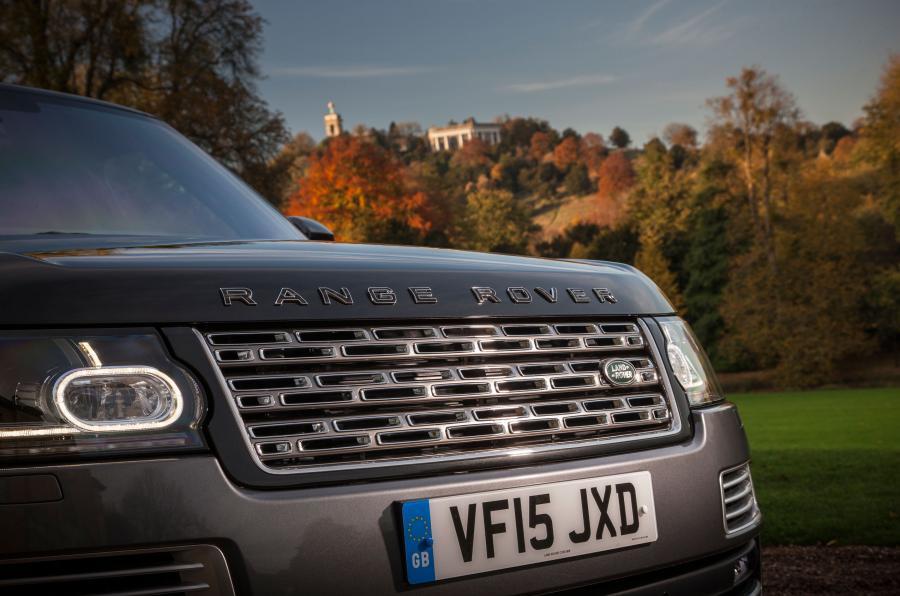 Range Rover SVA front grille