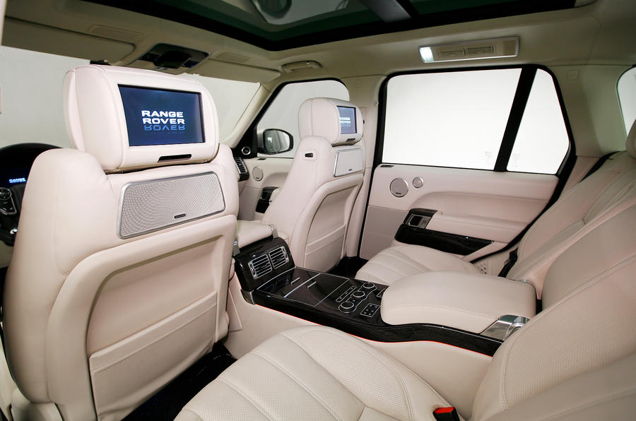 paris motor show range rover 4 autocar. Black Bedroom Furniture Sets. Home Design Ideas