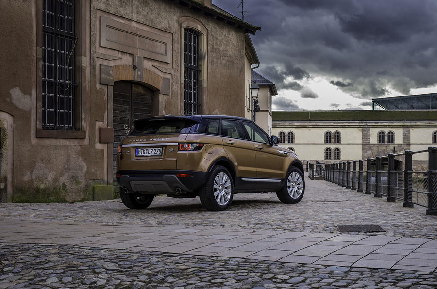 Evoque Dynamic Review Range Rover Evoque Si4 Review