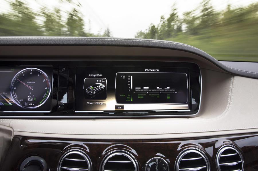 Mercedes-Benz S-Class infotainment