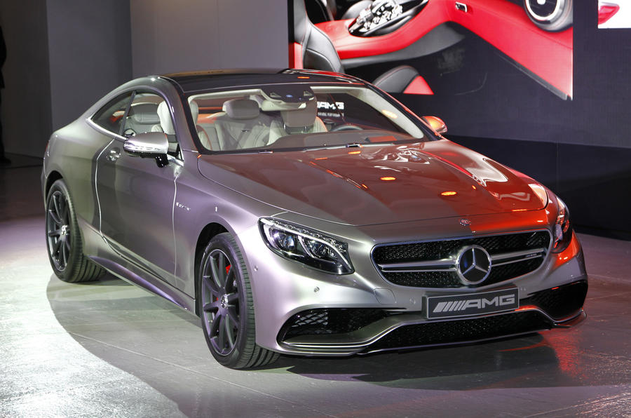 New Mercedes S63 AMG coupe unleashed with 577bhp