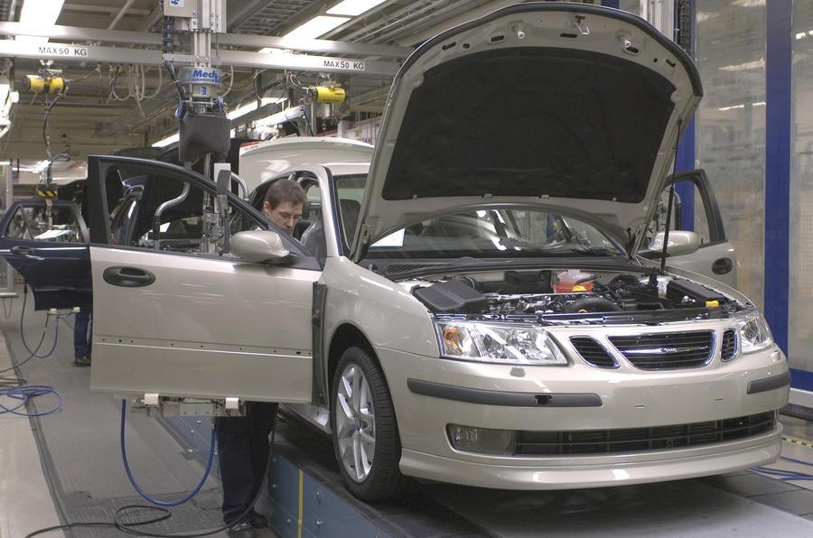 Saab at Frankfurt 'not appropriate'
