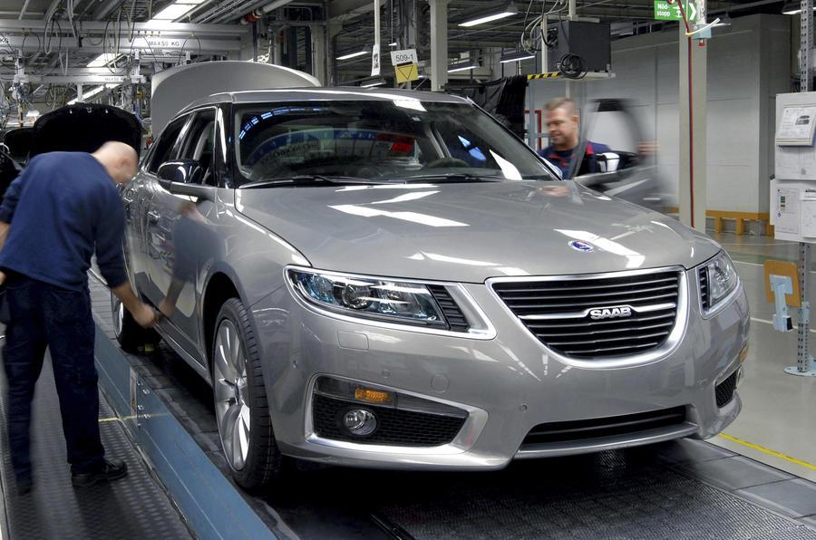 Saab restarts production