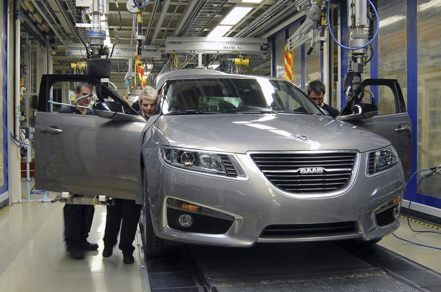 Saab workers launch protest
