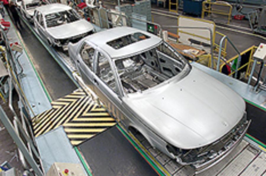 Saab 9-3 shrinking