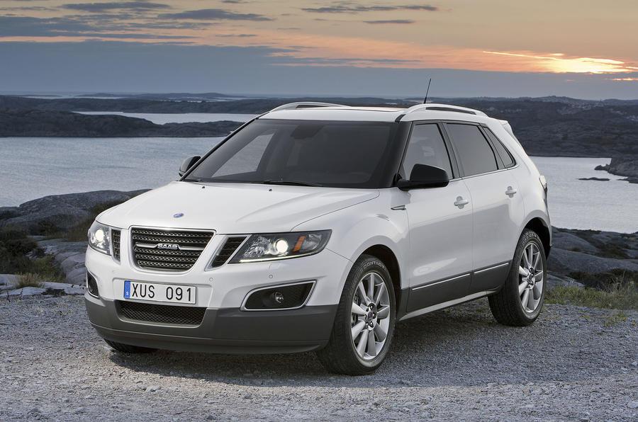 LA motor show: Saab 9-4X