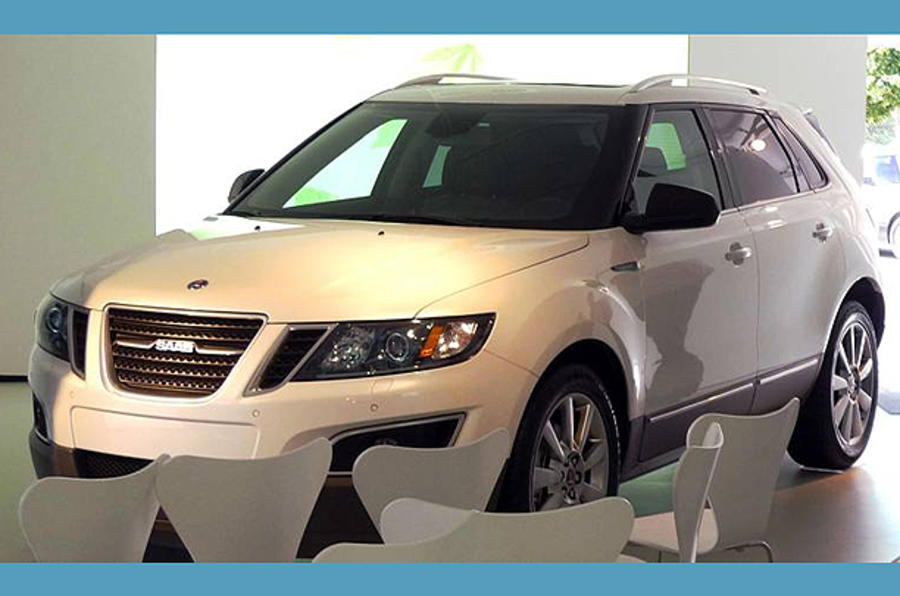 Saab 9-4X leaked ahead of LA