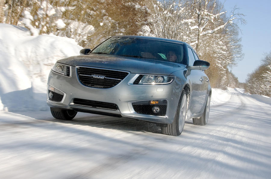Saab nears end of 9-5 testing