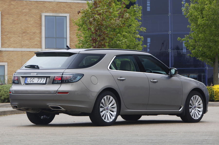 Saab launches 95 wagon
