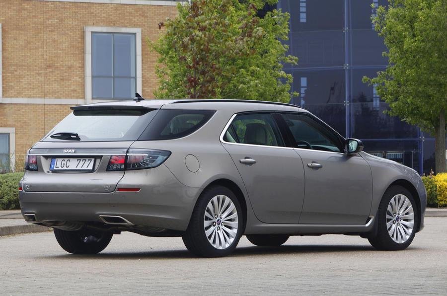 Saab launches 95 wagon