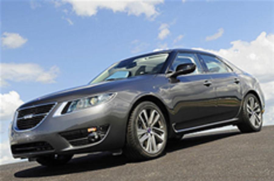 Saab 9-5 to get baby hybrid