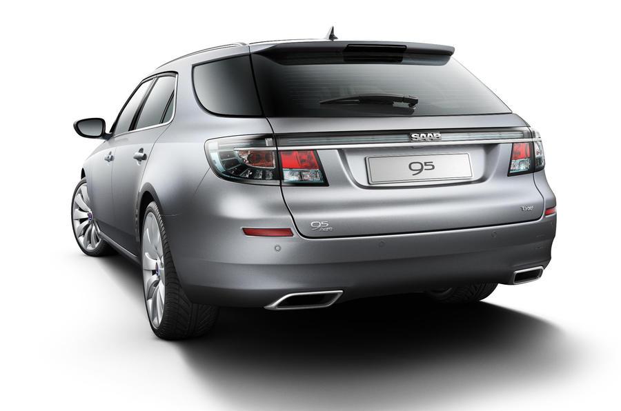 Geneva motor show: Saab 9-5 estate