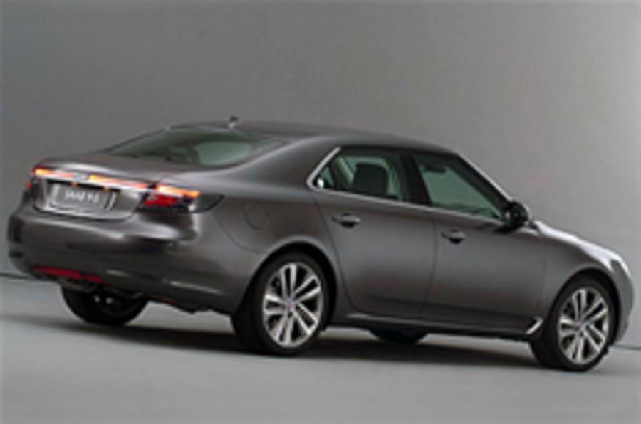 Frankfurt motor show: new Saab 9-5