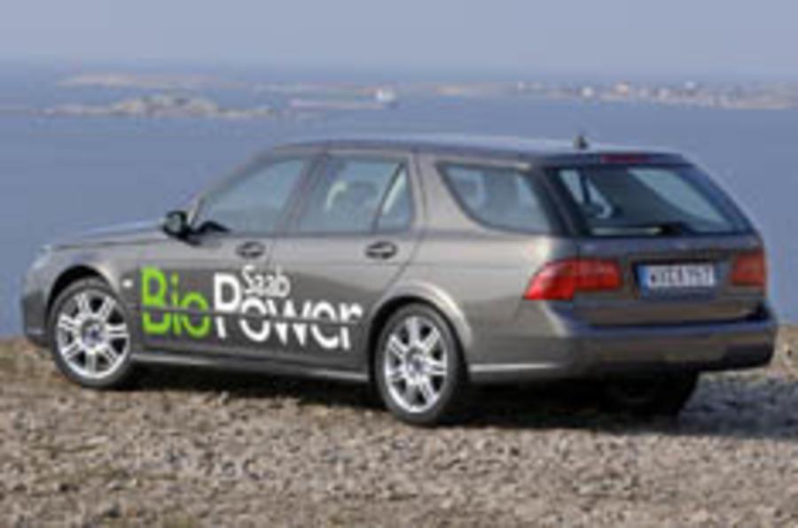 Saab biopowers on