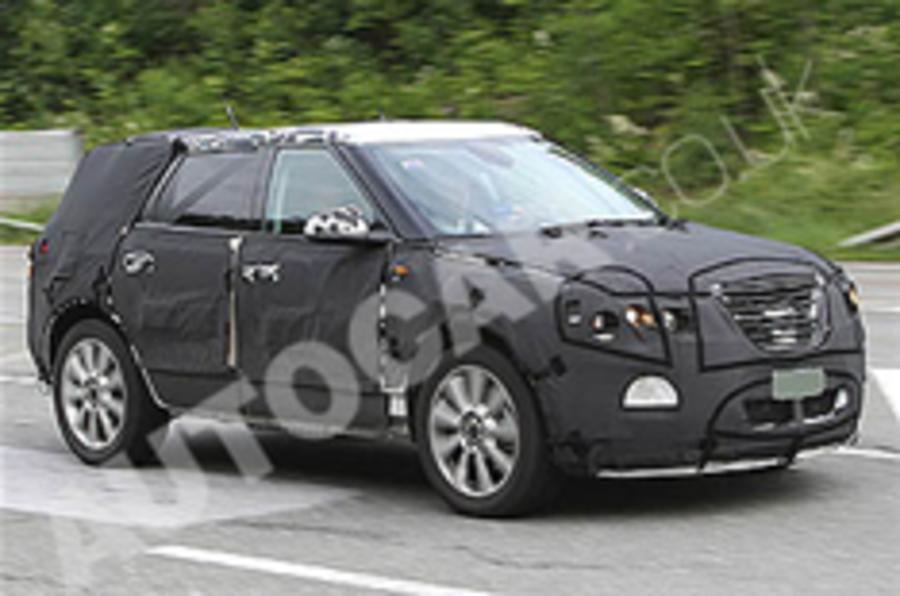 Spotted: Saab 9-4X