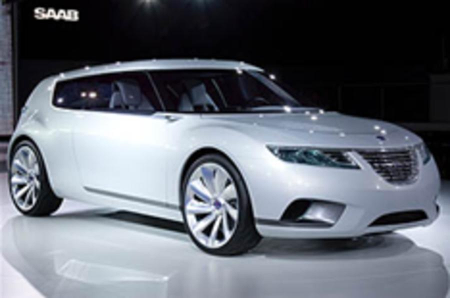 Saab 9-X on ice