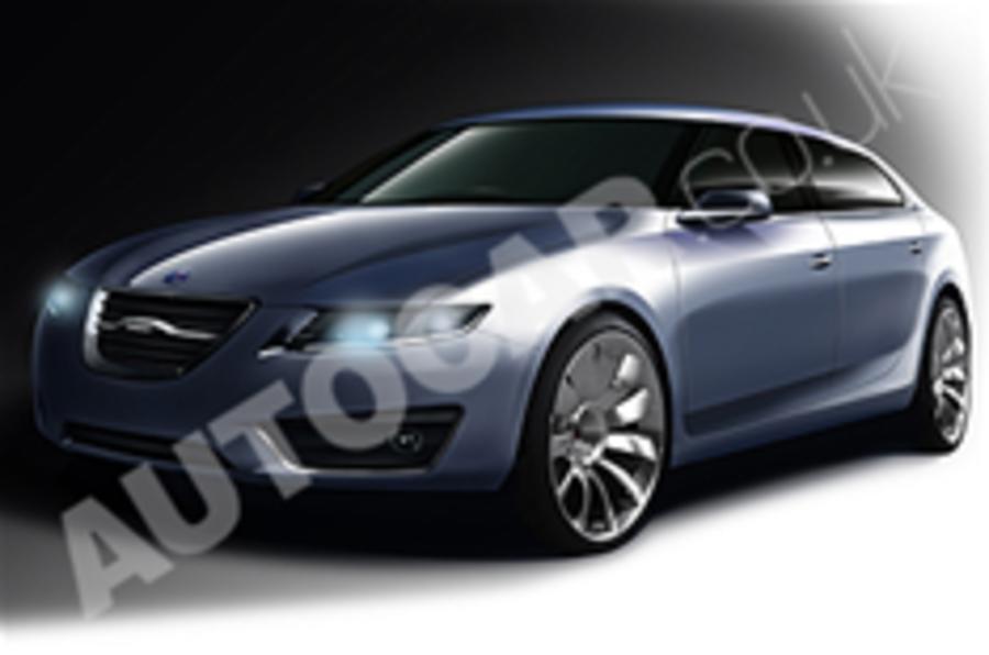 Saab shows new 9-5