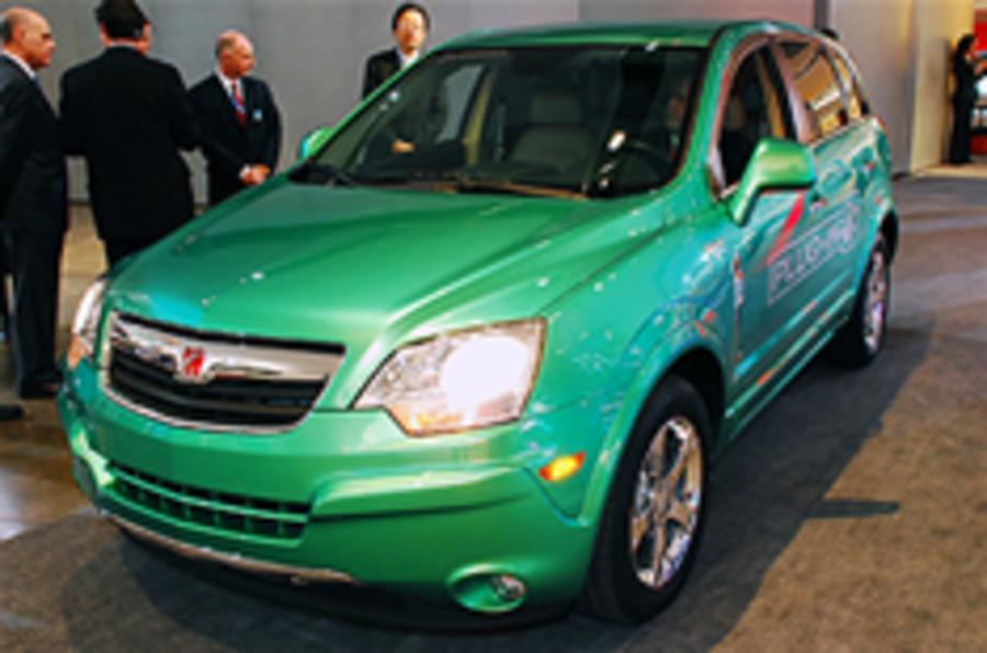 GM still plans plug-in SUV