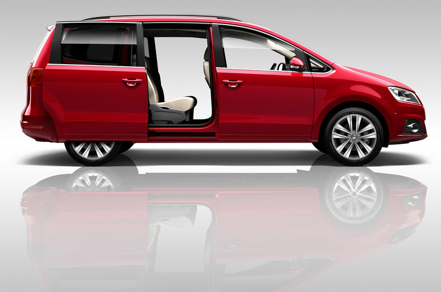 Seat reveals new AWD Alhambra