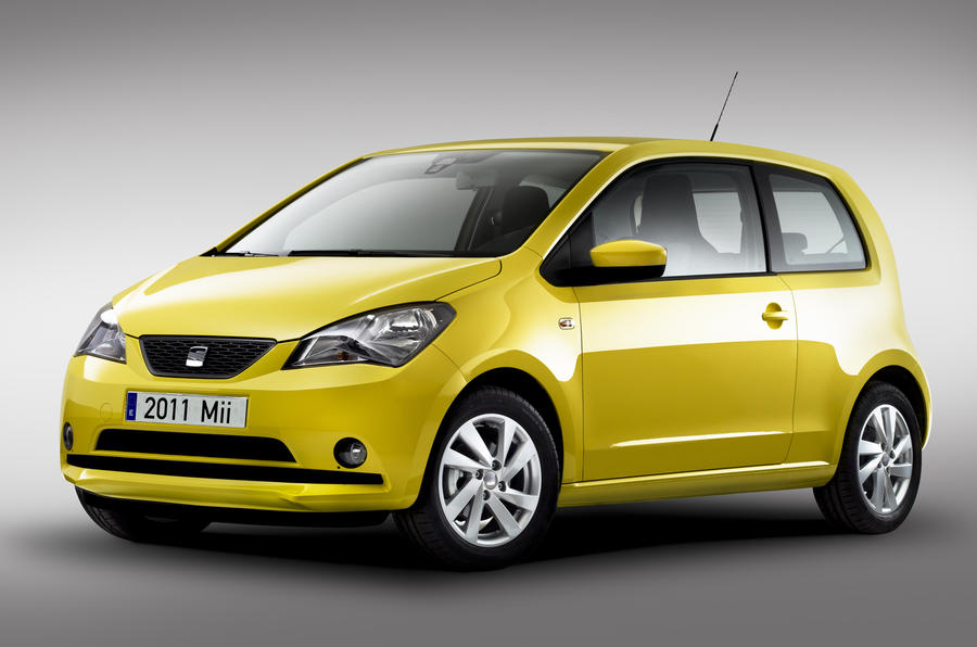 Seat Mii city car unveiled