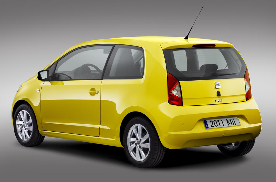 seat mii city car unveiled autocar. Black Bedroom Furniture Sets. Home Design Ideas