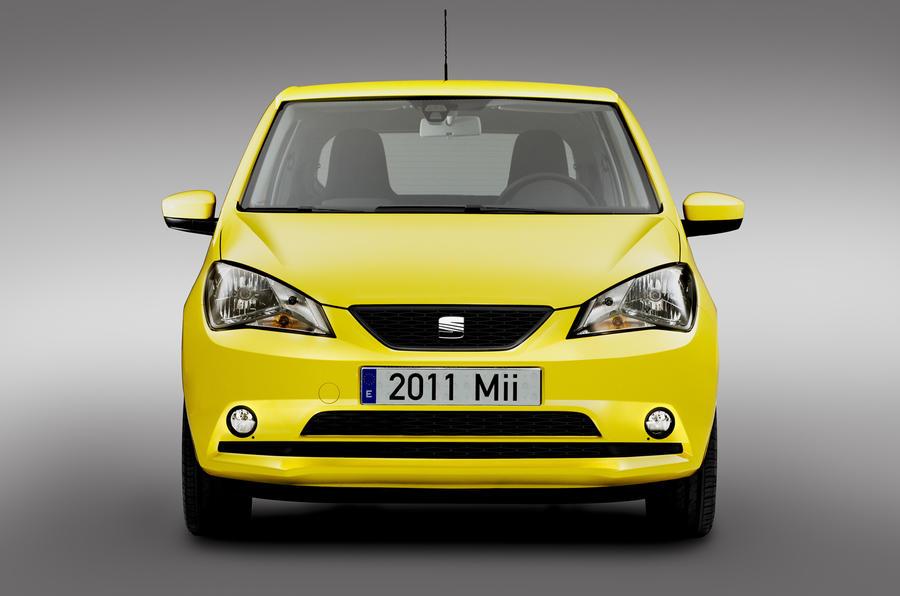Seat Mii city car unveiled