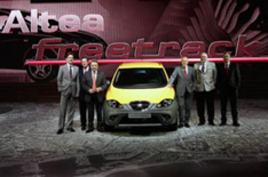 Seat's 'Allroad MPV' stars at Barcelona