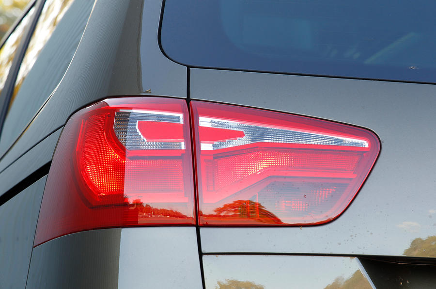 Seat Alhambra rear light